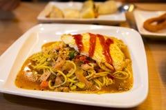 Ταϊβάν, πρόγευμα, εθνικό πρόγευμα, μαύρο πιάτο σιδήρου πιπεριών, Στοκ Εικόνες