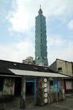 Ταϊβάν 101 πύργος Στοκ φωτογραφία με δικαίωμα ελεύθερης χρήσης