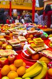 Ταϊβανικές παραδόσεις, θρησκευτική πίστη, τα συμβούλια Dafa, ευσεβή χρήματα εγγράφου, θυσιαστικές προσφορές, στοκ φωτογραφίες με δικαίωμα ελεύθερης χρήσης