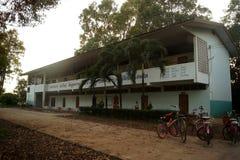 ΤΑΪΛΑΝΔΗ ΣΤΙΣ 4 ΔΕΚΕΜΒΡΊΟΥ 2016  ο όρος του σχολείου στην επαρχία Sakon Nakhon του Βορρά - ανατολικού της χώρας Ταϊλάνδη Στοκ Φωτογραφία