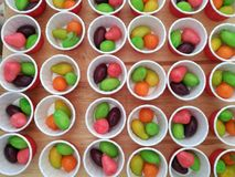Ταϊλανδικά γλυκά, Chub Luk Στοκ Εικόνες