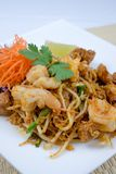 Ταϊλανδικά διάσημα τρόφιμα οδών μαξιλαριών Στοκ εικόνες με δικαίωμα ελεύθερης χρήσης