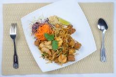 Ταϊλανδικά διάσημα τρόφιμα οδών μαξιλαριών Στοκ φωτογραφία με δικαίωμα ελεύθερης χρήσης