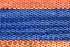 ταϊλανδικά κεραμίδια στε& Στοκ Φωτογραφία