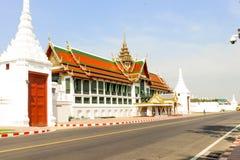 Ταϊλανδικά μεγάλα παλάτι αρχιτεκτονικής και phra Wat keaw στη Μπανγκόκ, ταϊλανδικά Στοκ Εικόνες