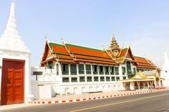Ταϊλανδικά μεγάλα παλάτι αρχιτεκτονικής τοπίων και phra Wat keaw στο BA Στοκ φωτογραφία με δικαίωμα ελεύθερης χρήσης