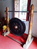 Ταϊλανδικά μουσικά όργανα Gong στοκ εικόνα