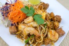 Ταϊλανδικά ταϊλανδικά τρόφιμα μαξιλαριών αρχικά Στοκ εικόνα με δικαίωμα ελεύθερης χρήσης