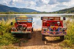 Ταϊλανδικά φορτηγά καλλιέργειας Στοκ Φωτογραφία