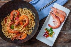 Ταϊλανδικά φρέσκα τρόφιμα Στοκ φωτογραφία με δικαίωμα ελεύθερης χρήσης