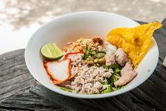 Ταϊλανδικά noodle- ύφους noodles Sukhothai Στοκ φωτογραφία με δικαίωμα ελεύθερης χρήσης