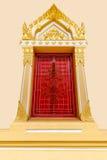 Ταϊλανδικά Windows ναών ύφους Στοκ Εικόνες