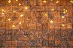 Ταϊλανδικές τοιχογραφίες ναών Στοκ Εικόνες