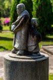 Ταϊλανδική θρησκευτική τέχνη Στοκ εικόνα με δικαίωμα ελεύθερης χρήσης