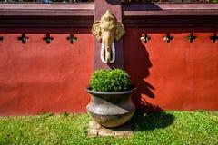 Ταϊλανδική θρησκευτική τέχνη Στοκ Φωτογραφία