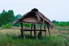 Ταϊλανδική καλύβα αγροτών Στοκ φωτογραφία με δικαίωμα ελεύθερης χρήσης