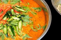 Ταϊλανδική κουζίνα Στοκ εικόνα με δικαίωμα ελεύθερης χρήσης