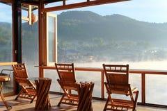 Ταϊλανδική λίμνη Rak απαγόρευσης στην επαρχία γιων της Mae Hong, Ταϊλάνδη στοκ εικόνες