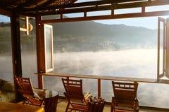 Ταϊλανδική λίμνη Rak απαγόρευσης στην επαρχία γιων της Mae Hong, Ταϊλάνδη στοκ φωτογραφίες με δικαίωμα ελεύθερης χρήσης