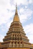 Ταϊλανδική παγόδα σε Wat Pho, Μπανγκόκ, Ταϊλάνδη Στοκ Εικόνες