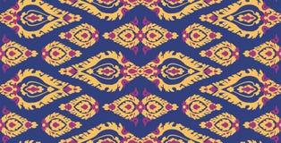 Ταϊλανδική παραδοσιακή διακόσμηση τέχνης, άνευ ραφής σχέδιο Στοκ εικόνες με δικαίωμα ελεύθερης χρήσης