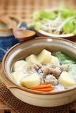 Ταϊλανδική σούπα τροφίμων Στοκ φωτογραφία με δικαίωμα ελεύθερης χρήσης