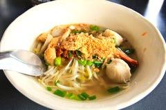Ταϊλανδική Noodle σούπα Στοκ φωτογραφία με δικαίωμα ελεύθερης χρήσης