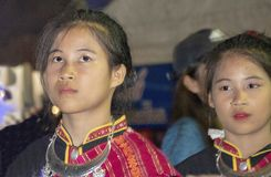 Ταϊλανδικοί μουσικοί και χορευτές στοκ εικόνες