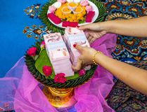 ταϊλανδικός γάμος Στοκ φωτογραφία με δικαίωμα ελεύθερης χρήσης