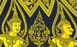 ταϊλανδικός παραδοσιακός τέχνης Στοκ φωτογραφία με δικαίωμα ελεύθερης χρήσης