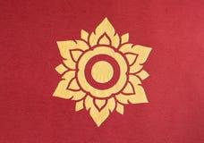 ταϊλανδικός παραδοσιακός ύφους lai Στοκ εικόνα με δικαίωμα ελεύθερης χρήσης