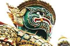 ταϊλανδικός πολεμιστής Στοκ Εικόνες