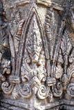Ταϊλανδικός στόκος σε Wat Mahathat, Ayutthaya, το Δεκέμβριο του 2018 της Ταϊλάνδης στοκ εικόνες με δικαίωμα ελεύθερης χρήσης