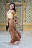Ταϊλανδικός χορευτής στοκ εικόνες