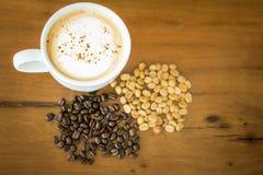 Ταϊλανδικό ελεφάντων shit Arabica καφέ καφέ οργανικό στοκ εικόνα