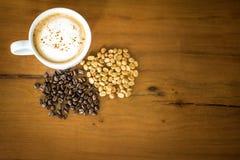 Ταϊλανδικό ελεφάντων shit Arabica καφέ καφέ οργανικό στοκ εικόνα με δικαίωμα ελεύθερης χρήσης