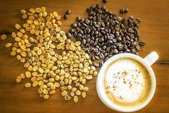 Ταϊλανδικό ελεφάντων shit Arabica καφέ καφέ οργανικό στοκ φωτογραφία με δικαίωμα ελεύθερης χρήσης