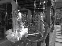 Ταϊλανδικό εστιατόριο ντεκόρ Στοκ φωτογραφίες με δικαίωμα ελεύθερης χρήσης