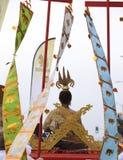 Ταϊλανδικό νέο φεστιβάλ Songkran έτους στοκ εικόνα με δικαίωμα ελεύθερης χρήσης