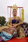 Ταϊλανδικό νέο φεστιβάλ Songkran έτους στοκ φωτογραφία με δικαίωμα ελεύθερης χρήσης
