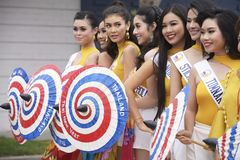 Ταϊλανδικό νέο φεστιβάλ Songkran έτους στοκ εικόνα