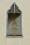 ταϊλανδικό παραδοσιακό παράθυρο ναών ύφους Στοκ εικόνα με δικαίωμα ελεύθερης χρήσης