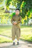 Ταϊλανδικό παραδοσιακό φόρεμα παιδιών Στοκ φωτογραφία με δικαίωμα ελεύθερης χρήσης