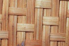 Ταϊλανδικό σχέδιο τέχνης σχεδίων ύφους της ξύλινης τέχνης καλαθιών Στοκ εικόνα με δικαίωμα ελεύθερης χρήσης