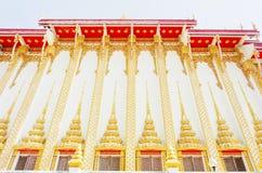 Ταϊλανδικό ύφος ναών σε Khon Kaen Ταϊλάνδη Στοκ εικόνα με δικαίωμα ελεύθερης χρήσης