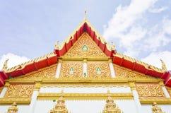 Ταϊλανδικό ύφος ναών σε Khon Kaen Ταϊλάνδη Στοκ Εικόνα