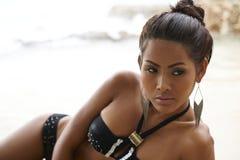 Ταϊλανδικό Bikini μοντέλο Στοκ Εικόνες