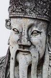 Ταϊλανδική λεπτομέρεια αγαλμάτων Στοκ Εικόνα