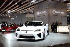 ΤΑΪΠΈΙ - 3 Ιανουαρίου: Lexus LFA στοκ εικόνες