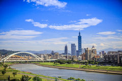 Ταϊπέι 101 πύργος, Ταϊπέι, Ταϊβάν Στοκ Φωτογραφίες